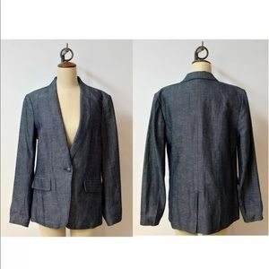 Rag and Bone lightweight denim blazer SZ 8
